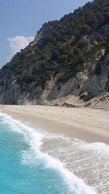 Breathtaking Egremni beach, Lefkada island ~ Greece