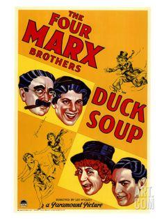 Duck Soup, 1933 Giclee Print at Art.com