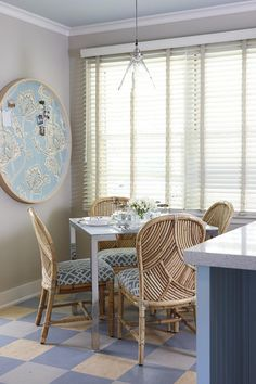 sarah richardson sarah 101 kitchen blue dining table fabric inspiration board