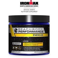 Energize de Beachbody Performance est une formule avant entrainement (pré-workout). Conçu avec des ingrédients naturels de première qualité.