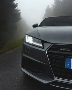 Audi Obsession — Foggy afternoon with the new Audi TT  || ...
