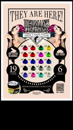 Color chart by Herman's amaizing hair color.hermanshairco… - Hair World Hair Chart, Cool Hair Color, Trendy Hairstyles, Hair Goals, Dyed Hair, Amazing Hair, Hair Styles, Charts, Hair Coloring