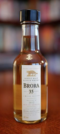 The Brora 35 Year 2012 Limited Edition Single Malt Scotch Whisky