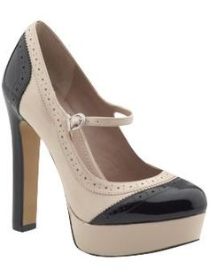 Newest Pair of Heels!!!  So excited to wear them!  Vince Camuto Jo Pump in Pink Champagne & Black Smooth Patent Leather