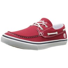 Timberland Mens Newmarket Canvas Casual Boat Shoes