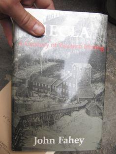 SCARCE HECLA J.FAHEY CENTURY OF WESTERN MINING 1990 VG DJ BOOK 1ST EDITION!