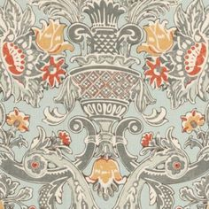 Wonderful print on 100% linen with many colors: spa blue, grey, camel and latte. Would look great on accent pillows, ottomans, bed skirts and curtains.