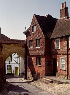 Castle Arch in Guildford - Surrey, England
