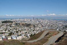 San Francisco: Twin Peaks views