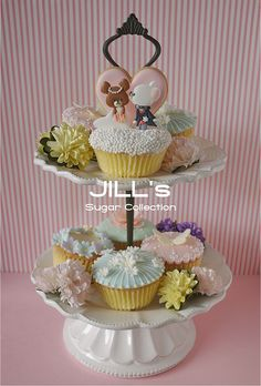 Jackie Cupcakes by JILL's Sugar Collection, via Flickr