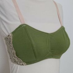 More bra muslins - my newest drafting experiment. SUPPORTIVE wireless bra with vertical seams and internal slings. Girls are up and forward!