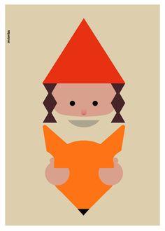 Milimbo Posters: Hide. €10,00, via Etsy.