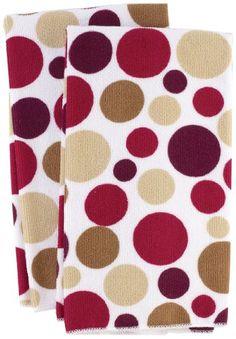 Ritz Royale Collection Microfiber Polka Dot Print Towel Set, Paprika, 2-Piece Ritz http://smile.amazon.com/dp/B006G1P3T0/ref=cm_sw_r_pi_dp_HPt0wb0DWH4W0