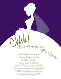 Invitations Zone Bridal Shower Wedding