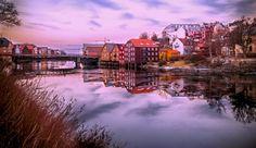 Gamel bybro and Nidelva, Trondheim  by Aziz Nasuti on 500px