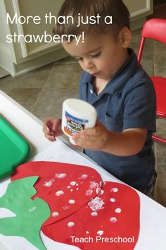 More than just a strawberry by Teach Preschool