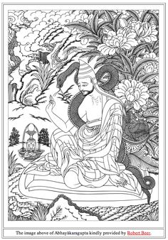 """Abhayākaragupta was one of the most important of the Indian masters of the Kālacakra cycle, and abbot of Vikramaśīla monastery, probably in the late 11th or very early 12th century CE – within a century after the Kālacakra Tantra was translated into Tibetan. Elsewhere on this site is his description for creating the Kālacakra maṇḍala; the present pages deal with his work on Kālacakra astronomy and the calendar, the Kālacakrāvatāra (dus kyi 'khor lo la 'jug pa, """"Introduction to Kālacakra"""")."""