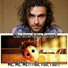 Aidan Turner ♡♡♡♡♡