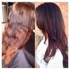 Before + after by Holly King > Theory Hair Salon > Montana