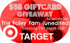 The Foley Fam - Unedited: Sunday FUNday #52 {a link up party} + the 1st of 4 Blogiversary GIVEAWAYS @Kristine Foley @TheFoleyFam