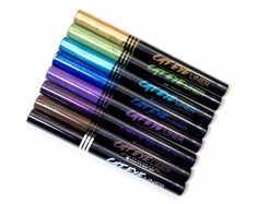 #Jordana Cat Eye Liner Swatches and Review