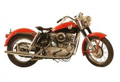 "George Pardos Collection ""Evolution of the Harley-Davidson Motorcycle"": 1957 Harley Davidson XL"