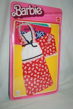 Vintage Barbie Best Buy Fashions #2228 Factory Sealed Card