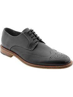 Digby brogue | Banana Republic - Mens black dress shoe
