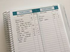 how to keep track of spending using your planner expenses stickers printable use blank note paper online shopping purchases