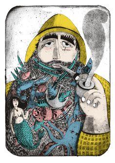 Firsherman's Beard by Rose Forshall, via Behance
