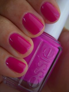 perfect summer pink, essie bermuda shorts