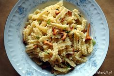 Kuchnia Bazylii: Makaron z kurkami i masłem truflowym