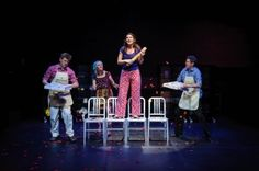 Review of I Love You Youre Perfect Now Change playing at the Toronto Centre for the Arts.