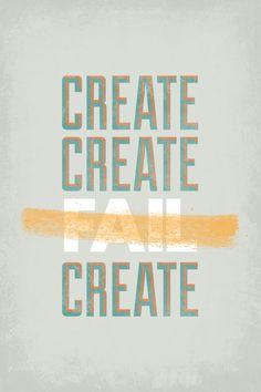 Create, Create, Fail, Create.