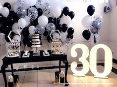 Party birthday theme for adults women 39 Super ideas 30th Birthday Themes, 30th Birthday Ideas For Women, Birthday Party Decorations For Adults, Carnival Decorations, Adult Party Themes, Adult Birthday Party, Birthday Woman, Birthday Games, Decoration Party