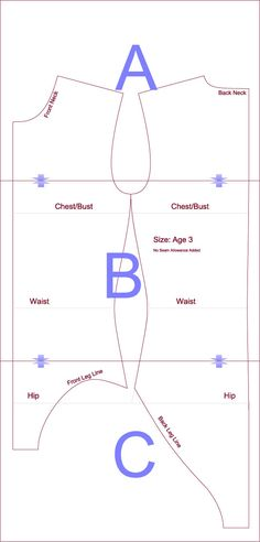 PATTERN MAKING-APPAREL FREELANCER STYLES -TEXTILE DESIGN-CAD TRAINING METHOD: LEOTARD SEWING PATTERN - FREE DOWNLOAD