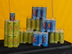 You never can have enough XS Power Drink.