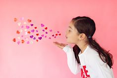 blowing hearts