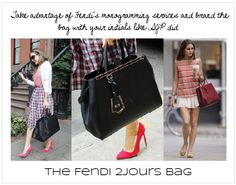8ec206ed82 Fendi 2Jours Bag personalized.