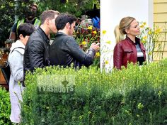 "Ginnifer Goodwin, Josh Dallas, Colin O'Donoghue and Jennifer Morrison - Behind the scenes - 6 * 1 ""The Savior"" - 12th July 2016"