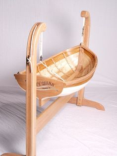 15 Cradles Cribs and Kids Beds You ll Wish Came in Adult Sizes – boat builder swinging cradle baby bjorn cradle mattress Gone are the days w. Baby Cradle Plans, Baby Crib Designs, Best Baby Cribs, Baby Hammock, Woodworking Bed, Woodworking Classes, Wooden Boats, Baby Furniture, Wood Toys