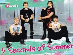 "5SOS 5 Seconds of Summer Calum Hood 11"" x 8"" Magazine Pinup Poster 