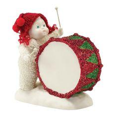 Snowbabies Figurine You've Got The Beat Baby - Department 56 4031802 #SnowbabiesYouveGotTheBeatBabyFigurine #Department56 #FineGiftsNottingham