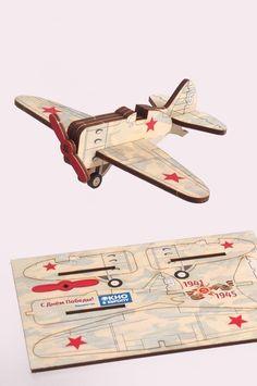 Деревянная открытка, открытка из фанеры, необычная открытка, открытка на заказ Wooden Airplane, Malm, Wooden Puzzles, Wood Toys, Baby Love, Kitten Heels, Projects To Try, Cricut, Handmade
