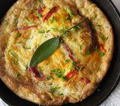 Prosciutto And Zucchini Frittata via @feedfeed on https://thefeedfeed.com/simplybeautifuleating/prosciutto-and-zucchini-frittata