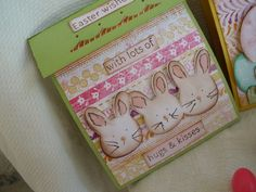 Doodlecharms - bunny (border cut)