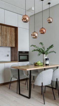 Kitchen Room Design, Home Room Design, Modern Kitchen Design, Dining Room Design, Home Decor Kitchen, Interior Design Kitchen, Kitchen Living, Kitchen Furniture, Home Kitchens