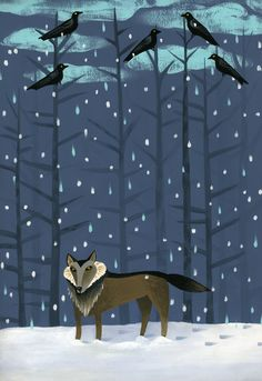 **Ande Cook: Winter Wolf