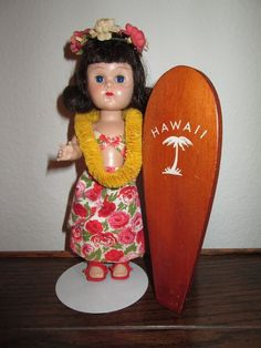 ~~~ 1959 Vogue Ginny Far- Away Lands Hawaiian Outfit on MLW ~~~
