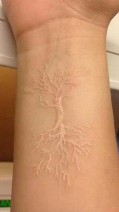 Stylish White Ink Tattoos Ideas You Will Love Today 49